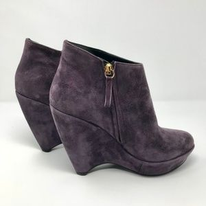 🎉HOST PICK🎉TAPEET by VICINI Suede Ankle Boots